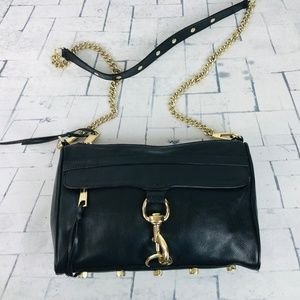 Rebecca Minkoff Leather Convertible Mini Mac Bag